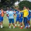 À espera de Thiago Neves, Cruzeiro segue preparação para jogo contra a URT pelo Mineiro