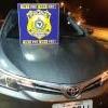 Polícia Rodoviária Federal  apreende automóvel com ocorrência de apropriação indébita