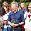 Romeu Zema participa de cerimônia que marca um ano do rompimento da barragem em Brumadinho