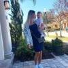 Grávida do 2º filho, Andressa Suita posa com Gabriel e encanta