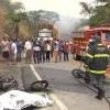 Motos batem, motociclista morre e o outro fica ferido na BR-418