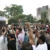 Servidores do Estado protestam contra parcelamento de salários e falta do 13º