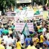 Manifestação contra o governo reúne 24 mil pessoas em BH