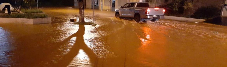 Teófilo Otoni na lista das 79 cidades com previsão de chuva forte a moderada em MG